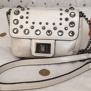Juicy Couture Small Silver Crossbody Bag